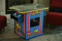 Ms. Pac-Man Arcade Cocktail Machine