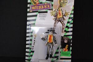 1989 Showtime Beetlejuice With Rotten Rattler , Kenner , Mint Edmonton Edmonton Area image 1