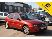2006 (55) ROVER 25 1.6 SI 5 DOOR HATCHBACK RED MANUAL PETROL 108 BHP