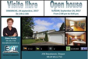 OPEN HOUSE SUNDAY FROM 2:00 TO 4:00