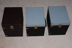 Lot of 3 Vintage Containers Full of  Slide Trays Kitchener / Waterloo Kitchener Area image 3