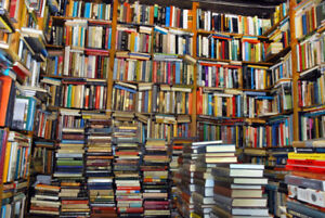 Is your house starting to look like this? We buy your used books