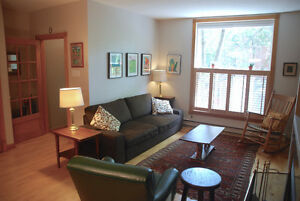 Sunny St Henri 4 1/2 w/parking - Dec 1 furnished or unfurnished