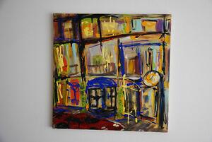 "Original Abstract Art by Chris Hrynyk ""Deluxe Apartment"" Edmonton Edmonton Area image 1"