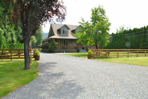 Country Home on almost One Acre Lot with Large Shop, Agassiz