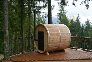 BARREL SAUNAS!! Seats 6 People, Easy to Assemble, Free Delivery North Shore Greater Vancouver Area image 10