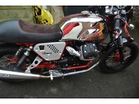 Moto guzzi v7 racer 2013 12 months MOT very very clean example extras Arrow exhaust Pazzo rizoma A+