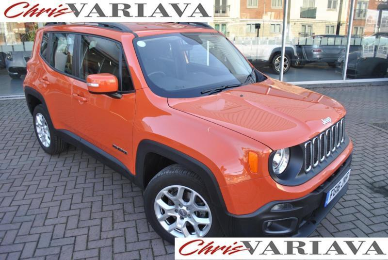 2016 jeep renegade m jet longitude 2 0 4x4 manual diesel orange manual in basford. Black Bedroom Furniture Sets. Home Design Ideas