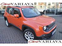 2016 Jeep Renegade M-JET LONGITUDE ** 2.0 4x4 MANUAL ** Diesel orange Manual
