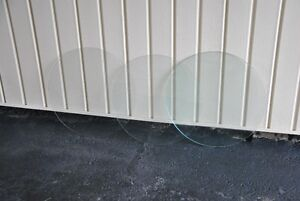 3 ROUND GLASS TABLETOP