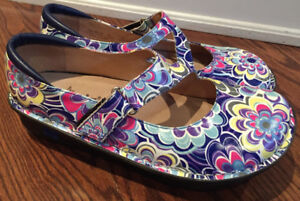 Alegria Mary Janes Shoes Sz 40/9 new without Tags I Ship