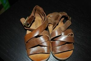 ZARA Baby Boy Summer Leather Sandals - Size 5 (21)