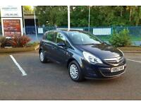 Vauxhall Corsa 1.0 ecoFLEX 2012 Hatchback 5 Door In Black