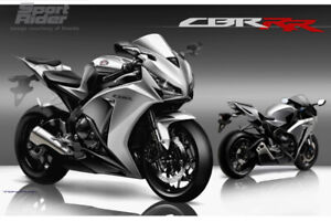 2008 CBR 1000RR custom paint + tuned + 2 Bro exhaust 11,000KM