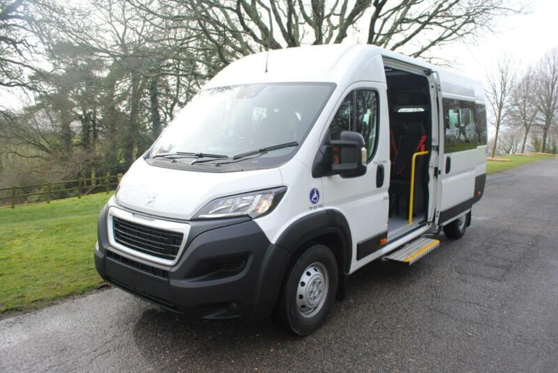 5c2f0fc4bf5fc1 2015 PEUGEOT BOXER 440 L4H2 HDI Wheelchair Accessible Minibus