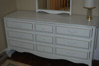 Girl's French Provincial Bedroom Suite