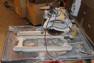 USED DeWalt Wet Tile Saw - Get it before it's gone!