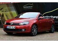 2015 Volkswagen Golf 2.0 GT TDI AUTOMATIC BLUEMOTION DSG CONVERTIBLE SAT NAV 150