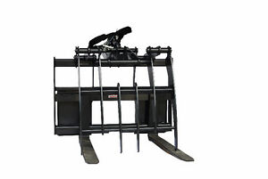 Jenkins HEAVY DUTY Pallet Forks Grapple Skidsteer Attachment Williams Lake Cariboo Area image 2