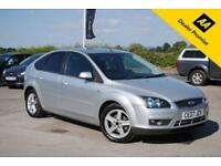 2007 FORD FOCUS 1.6 TITANIUM 5 DOOR SILVER PETROL MANUAL