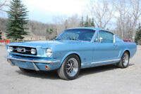 GORGEOUS 1966 FORD MUSTANG GT FASTBACK