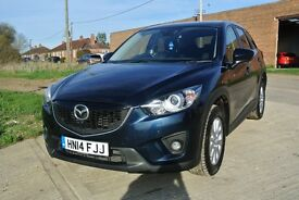 Mazda CX-5 2.2D 2WD SE-L 150PS (blue) 2014