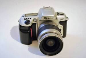 Nikon F60 35mm Film SLR Camera with 28-80mm AF Lens
