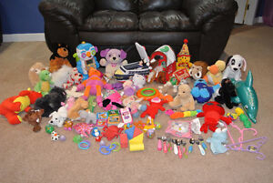 Huge Lot of Stuffies/Toys