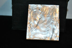 Vintage Mother Pearl Powder Compact