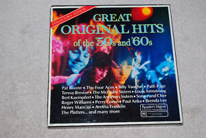 Great Original Hits of the 50's and 60's Collector's Edition LPs