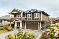 Immaculate 2008 Built Custom Home with Legal 2 Bed Suite