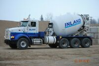 Inland Concrete Leduc is looking for a Ready-Mix Operator
