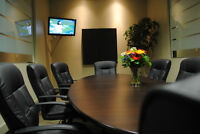 Professional Furnished Office Space Downtown