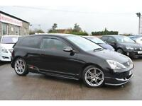 2005 Honda Civic 2.0 I-VTEC TYPE R Black 3 Door Hatchback Manual Petrol