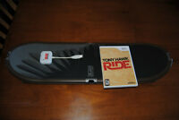 Wii Tony Hawk Ride Game and Board