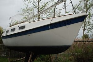 Tanzer 22 for sale before launch