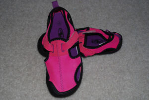 water shoes  girl size 11-12