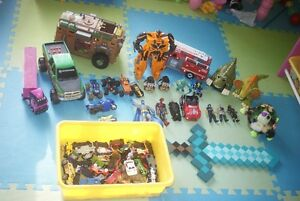Boy toys lot. Minecraft, spiderman, batman, and more. All for$30 Belleville Belleville Area image 1