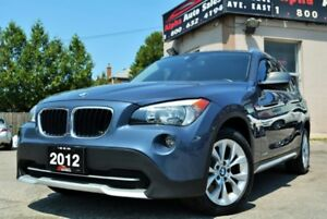 2012 BMW X1 28i X-DRIVE *ONLY 97k KM* NAVIGATION* CERTIFIED!