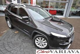 2015 Jeep Cherokee M-JET LIMITED FWD Diesel black Manual