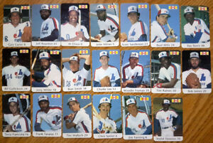 1982 MONTREAL EXPOS CARDS