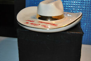 Vintage HYCROFT Ceramic Cowboy Hat