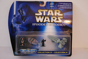 Star Wars (NIP) Episode I Micro Machines Collection IV