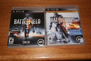 Playstation PS3 games - $10 for Battlefield 3