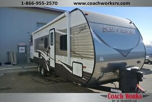 *$119 b/w. Clearance priced 2016 Shasta Revere 30 BH. Call today