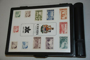 Canada 1867-1967 Centennial Commemorative Stamp Box, Mint Stamps