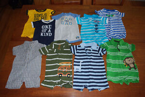 Baby Boy Summer Size 6 months – see 3 pics