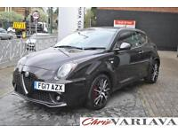 2017 Alfa Romeo Mito 1.4 TB MultiAir 170 Veloce 3dr TCT ** FULL RED LEATHER + SU