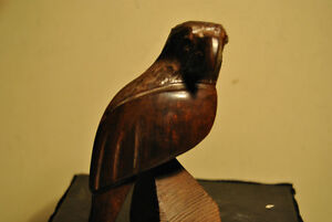Wood Figurine of a Bird
