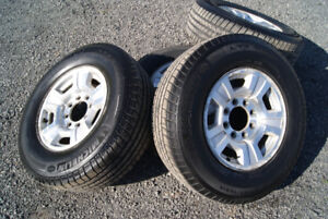 Michelin LTX and GMC OEM alloy rims-REDUCED